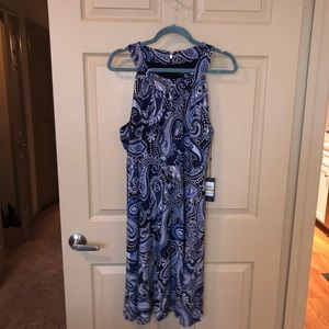 New Tommy Hilfiger Blue Dress size 14